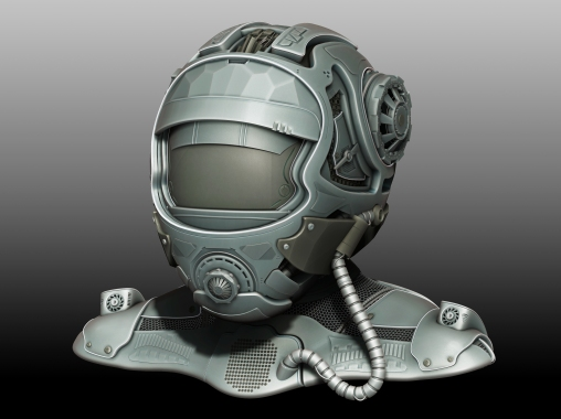 SciFi_Helmet_1